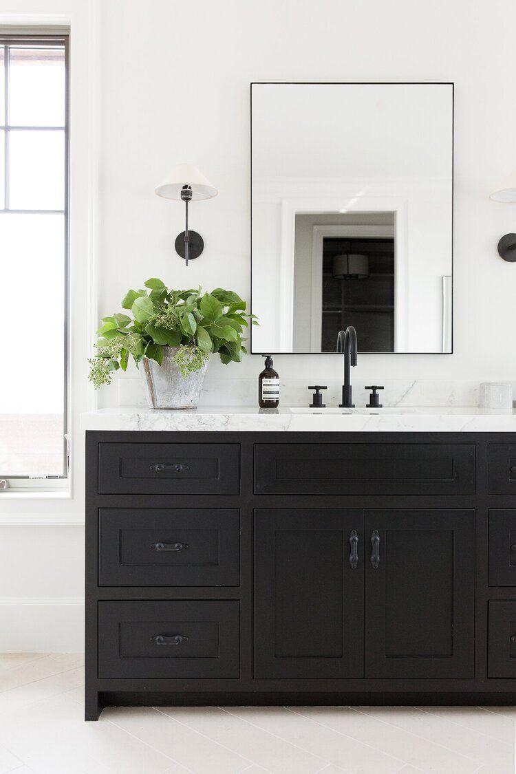 17++ Black bathroom vanity info