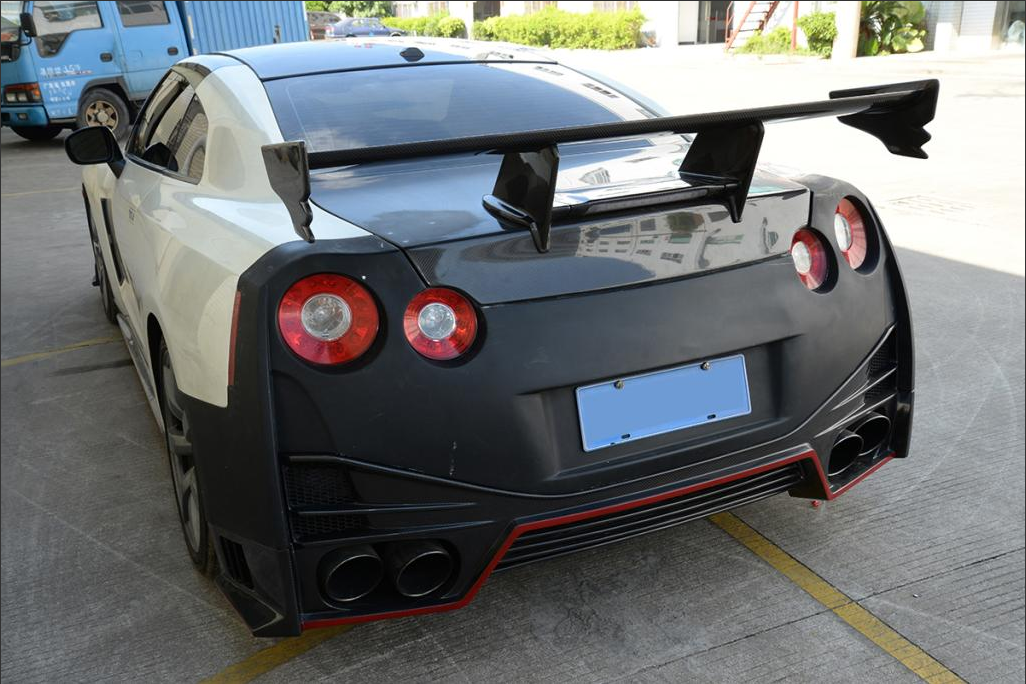 Gtr Nismo Trunk Wing Spoiler Carbon Fiber For Nissan R35 Gt R Gtr 09 15 Any Query Pls Feel Free To Contact Me Through Whatsapp Wechat Nissan Gtr Nissan Gtr