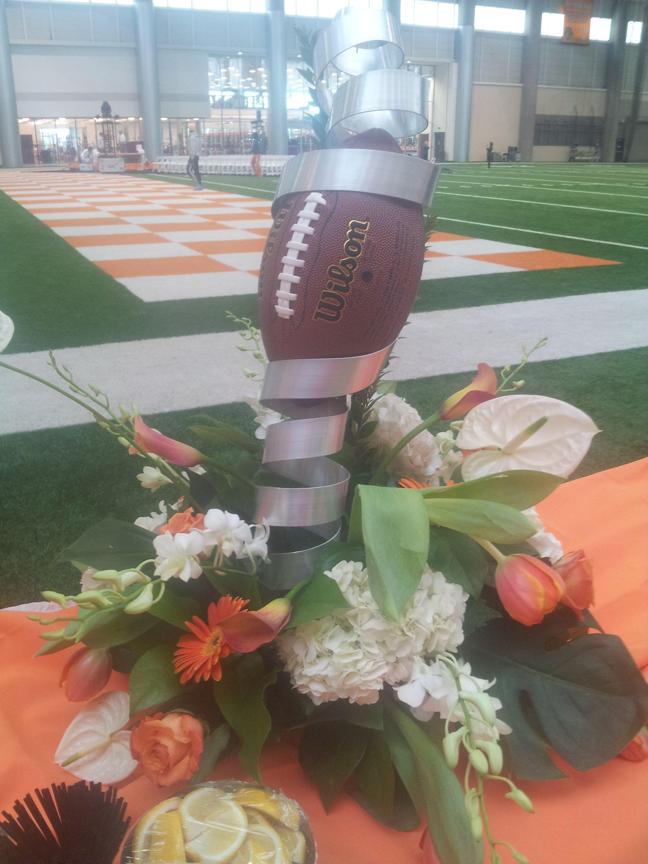 Ut Football Themed Fresh Arrangement For The University Of Tennessee