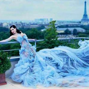 Christian Lacroix couture / Dita Von Teese - one of my favourite editorials of Dita ever.
