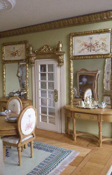 D coration d 39 une maison de poup e miniature l 39 chelle 1 for Decoration accessoire maison