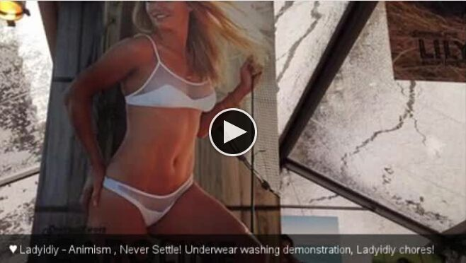 Caroline Wozniacki: ♥ Underwear washing demonstration, Ladyidiy chores!Give ♥ a love-letter, let those you love or loved meet again!     >>>>> ♥  ♥  ♥  http://www.ladyidiy.com