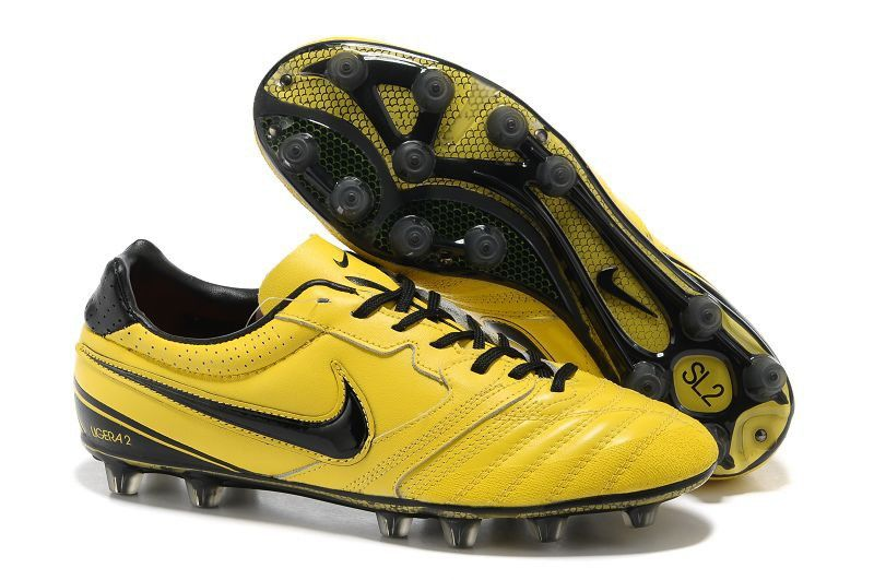 cheap for discount 0d1ef 8ea19 Nike Super Ligera II HG Cheap Soccer Shoes Yellow Black