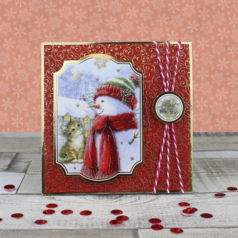 Cricut Christmas Crafts Part - 50: Card Created Using Hunkydory Craftsu0027 Santa Paws 2 At Christmas Craft Stack