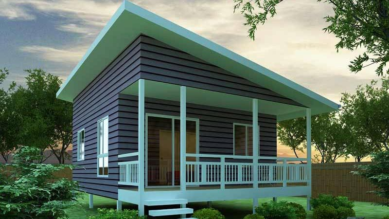 Kit Homes Can Be Designed To Make Excellent Granny Flats. This Granny Flat  Has One Bedroom With Open Space Kitchen, Meals And Living Room