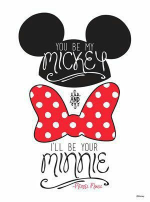 Disney Wallpaper And Cute Image Mickey Mouse Wallpaper Mickey And Minnie Love Disney Wallpaper