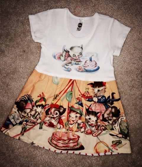 found on Kidizen: Vintage Lucy's Sz 4 Kitty Dress