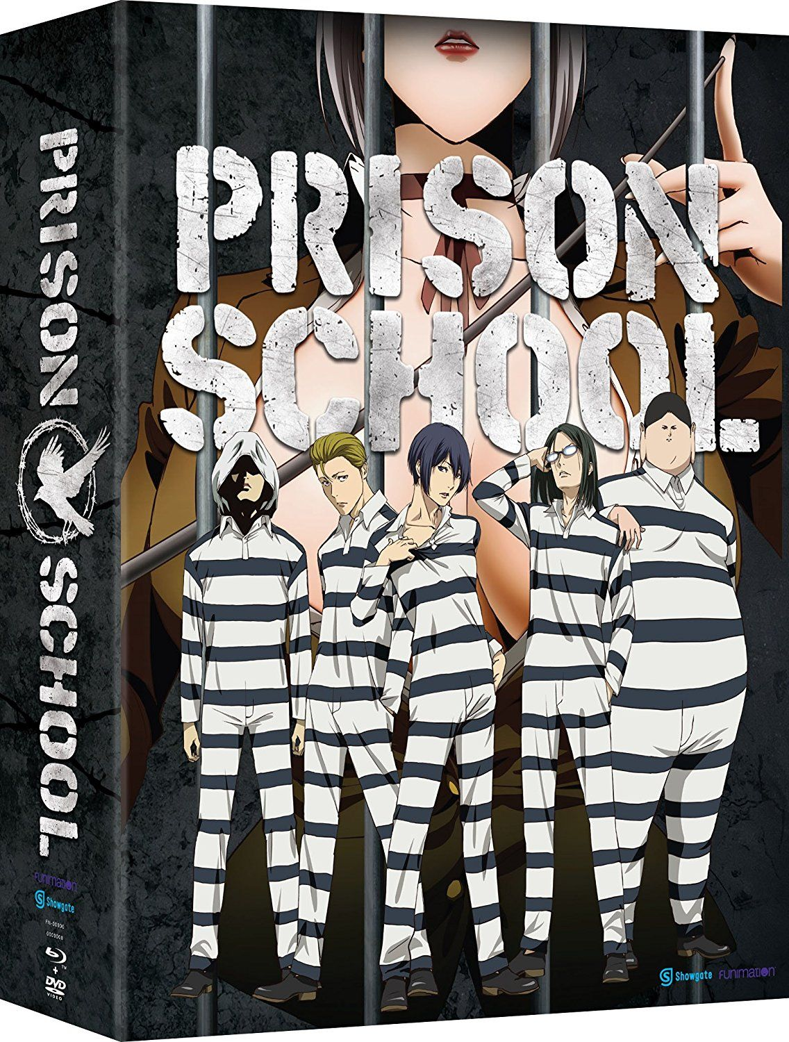 Prison School The Complete Series (Limited Edition Blu