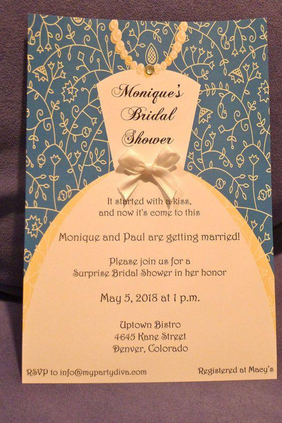 bridal shower invite Bridal Shower Ideas Pinterest Bridal