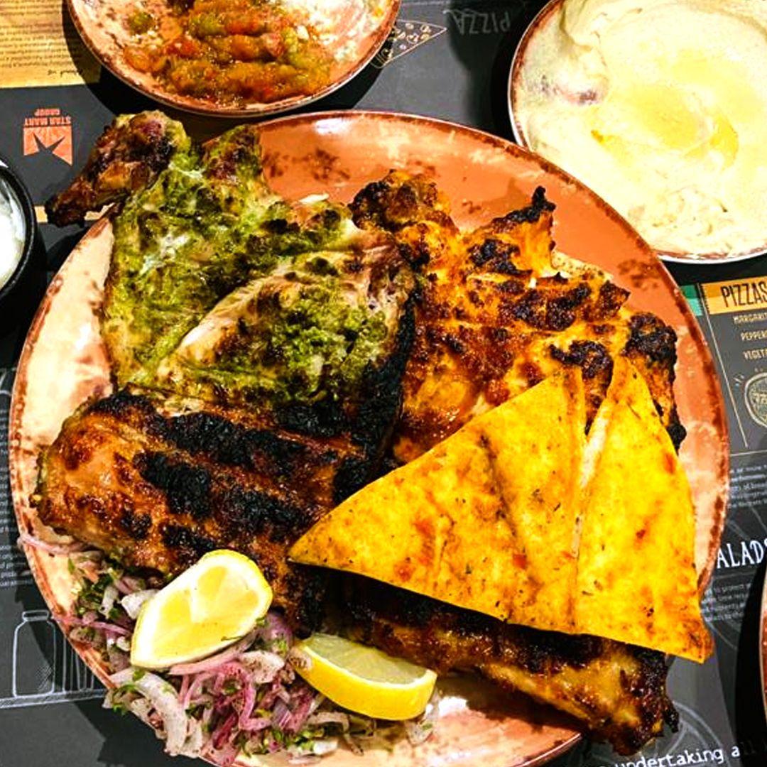 Chicken Charcoal At Golden Tasty Restaurant Dubai Uae In 2020 Delicious Restaurant Food Food Hacks