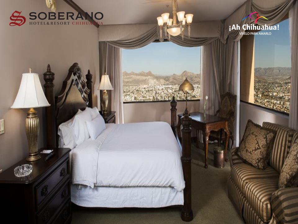 En el Hotel Soberano Chihuahua categoría gran turismo, les