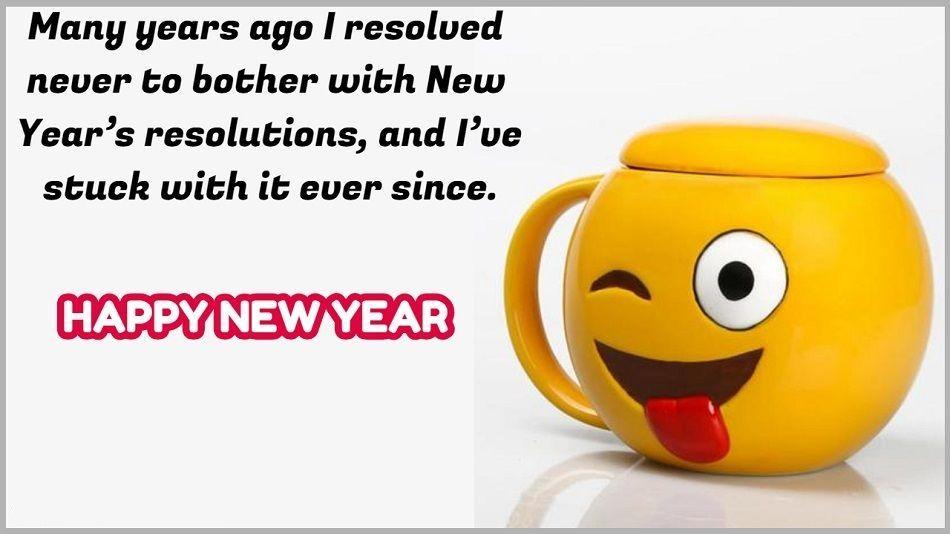 Happy New Year Funny Quotes #HappyNewYear #happynewyear2019 ...