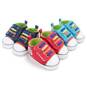 177b5e494d1fc Haiya Spring And Autumn Male Babies 0 1 Years Old Canvas Leisure Sports  Babies Walking Shoes Support