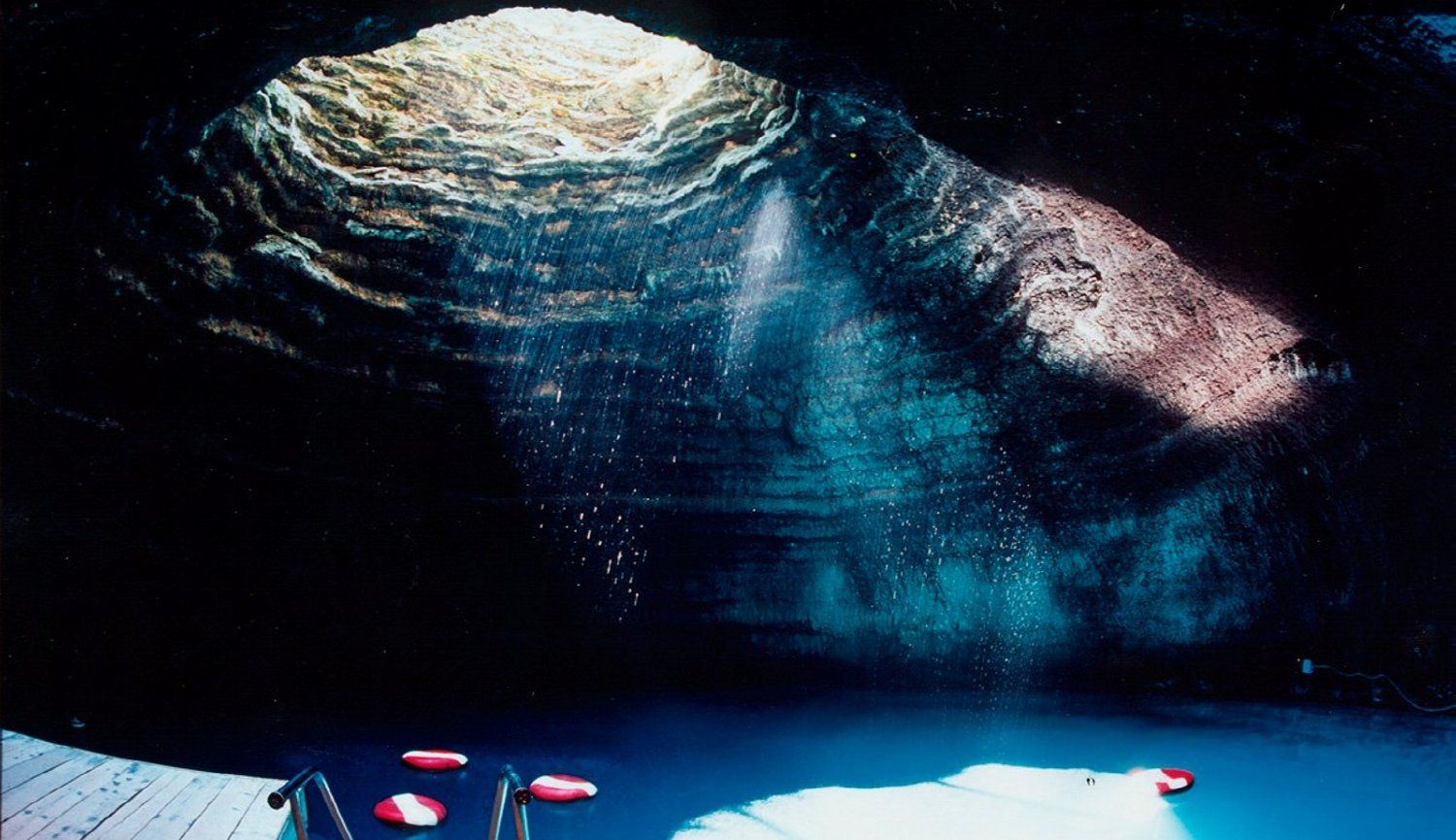 Paddle Board Yoga In A Hot Springs Cave Crater Park City Ut