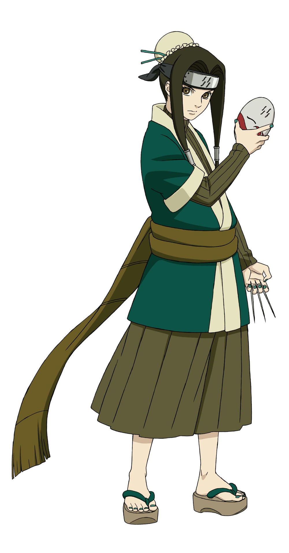 Haku (白, Haku) was an orphan from the Land of Water, and a ...