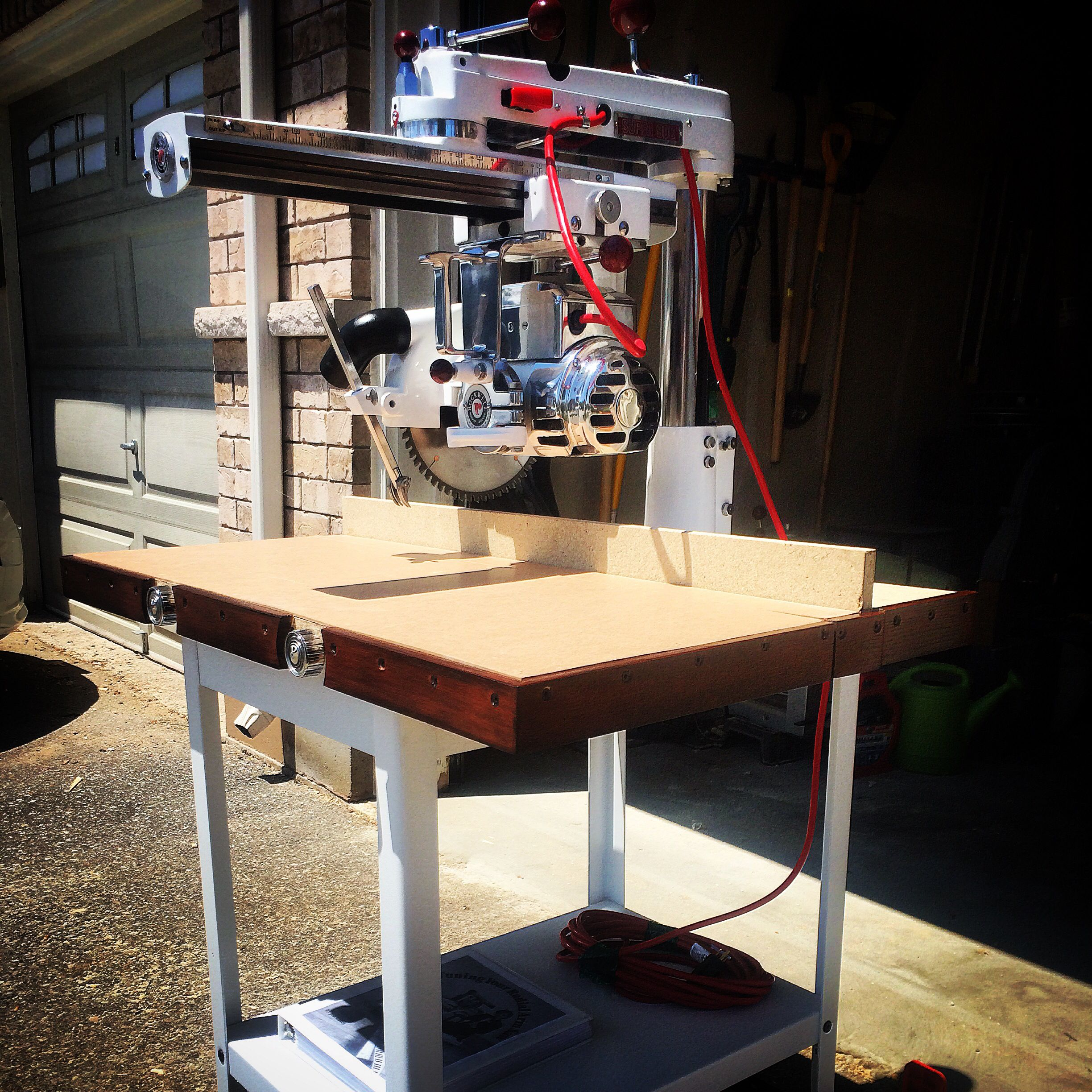 Delta Super 900 Radial Arm Saw ( Fleetham Design)