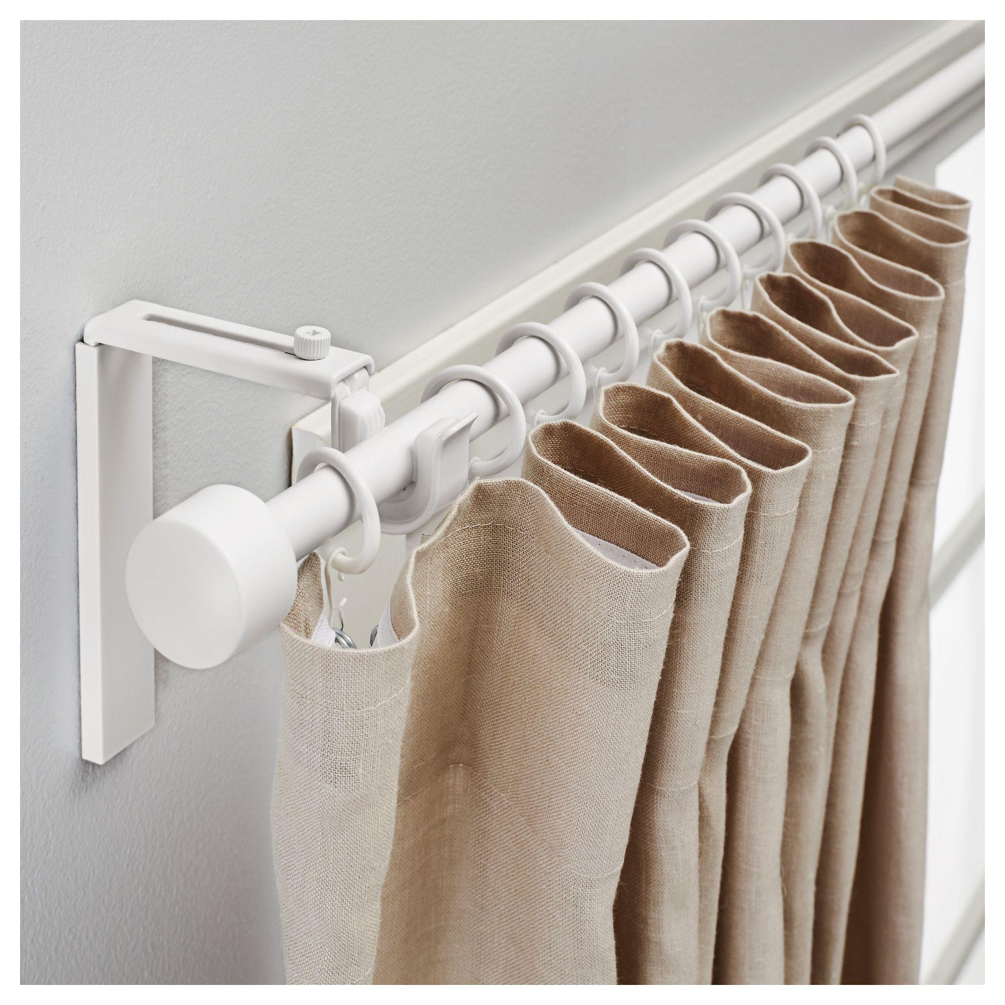 RÄcka curtain rod combination white curtain tracks ideas curtain