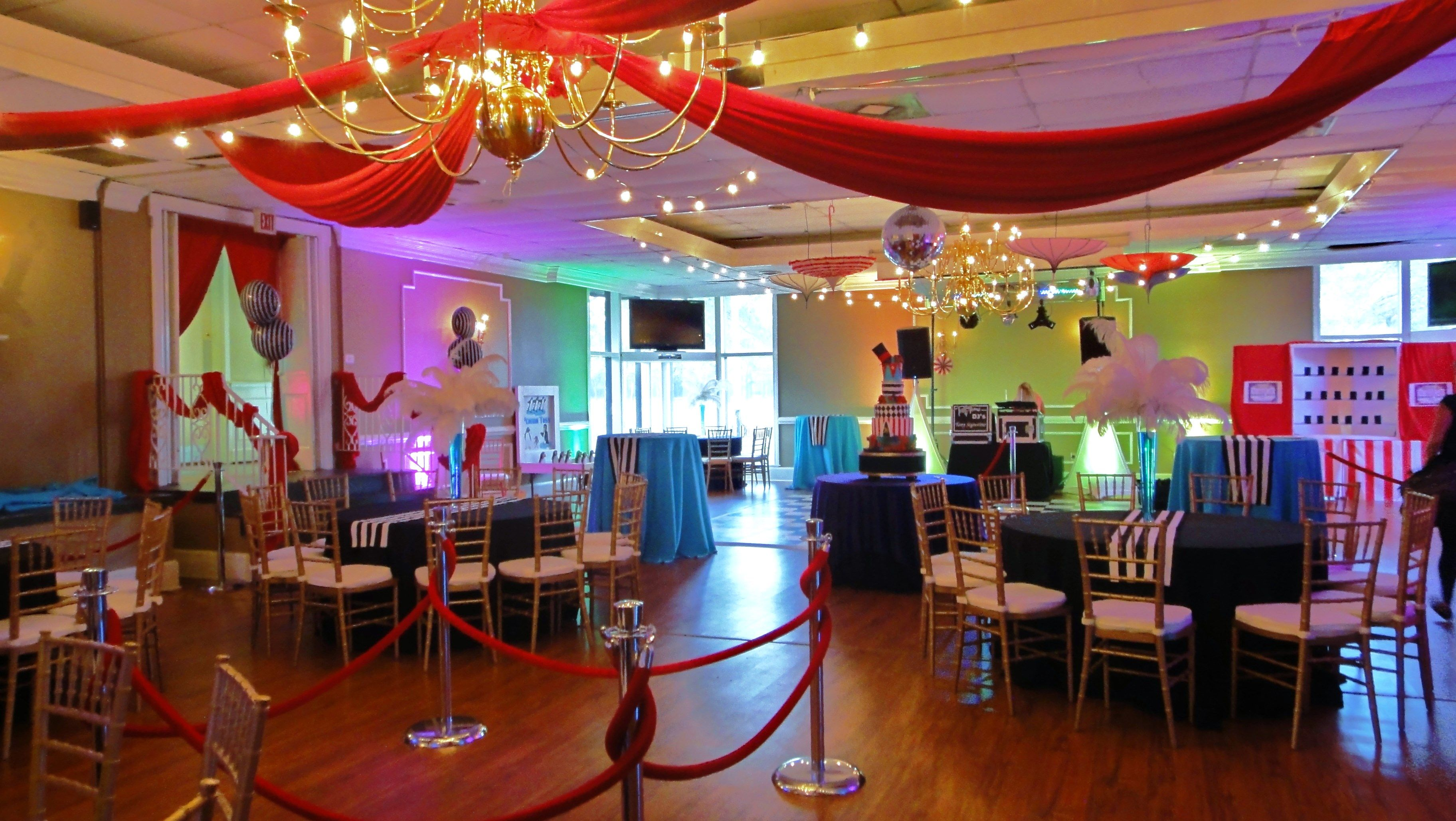 Vintage Carnival Cirque Themed Sweet 16 Party