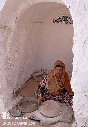 Las Casas Cueva Bereberes de Túnez