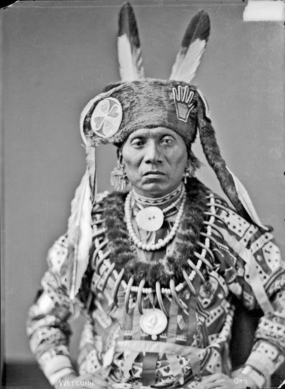 Photo of Standing Eating – Otoe – 1884