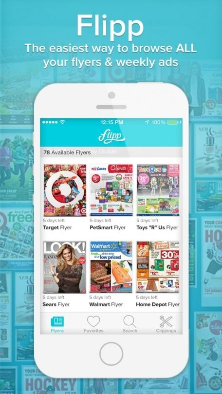 All your weekly flyers in one convenient app!! Gift card
