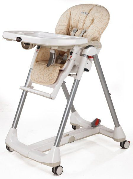 Peg Perego Prima Pappa Diner High Chair Savana Beige Folding