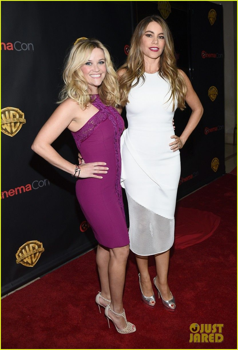 Reese Witherspoon & Sofia Vergara's 'Hot Pursuit' Press Tour is in Full Swing!