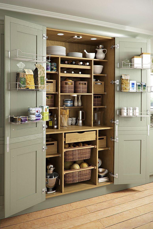 25 Cool Pantry Door Ideas That Go Beyond The Mundane With Images Pantry Design Kitchen Larder Kitchen Design