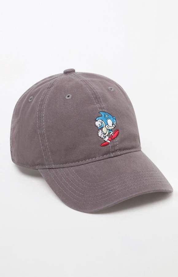 PacSun null Sonic The Hedgehog Strapback Dad Hat  affiliatelink ... edb3b0d8e3cf