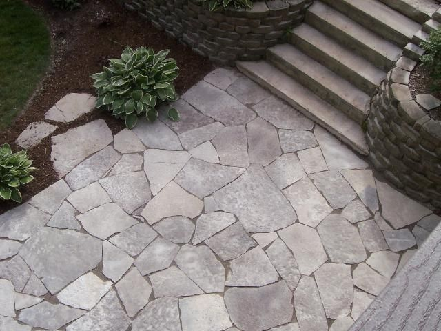 Awesome Flagstone Patio, #outdoors, #pinsland, Https://apps.facebook