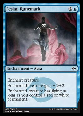 Jeskai Runemark | FATE REFORGED Visual Spoiler