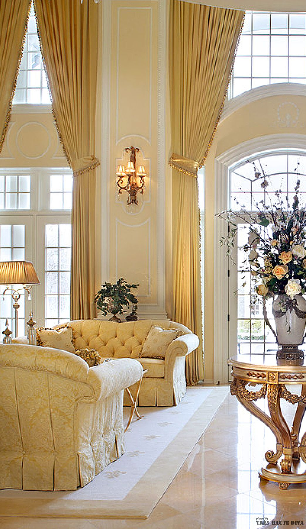Classic French Style Salon Home Luxury Living Room Living Room