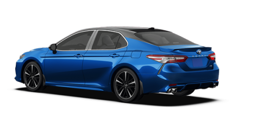Camry Xse 2018 Blue Black Camryn Toyota Camry Toyota Cars