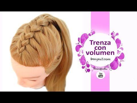 Peinados Con Trenza Invertida O Holandesa Con Volumen Half Up Hair Long Hair Styles Hair Due