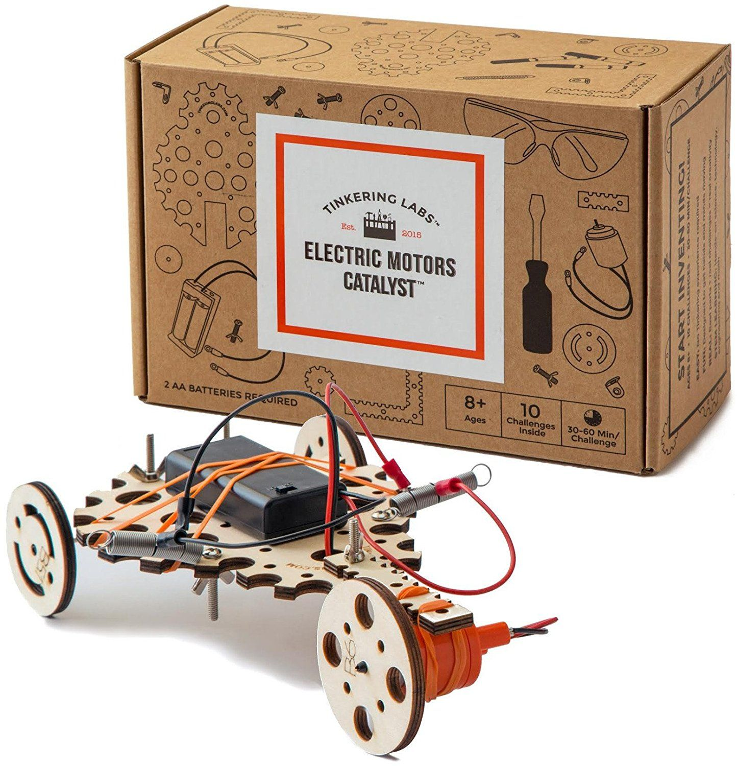 Amazoncom Tinkering Labs Electric Motors Catalyst Toys Games Snap Circuits Arcade Out Of The Blue