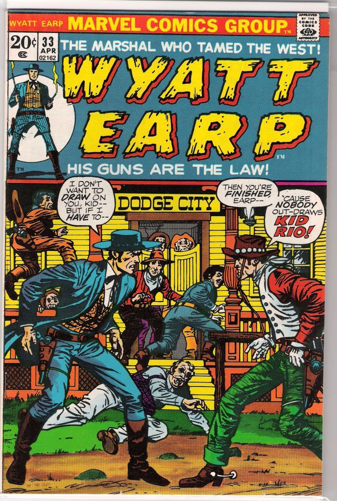 Re: Western Cowboy Comic Book