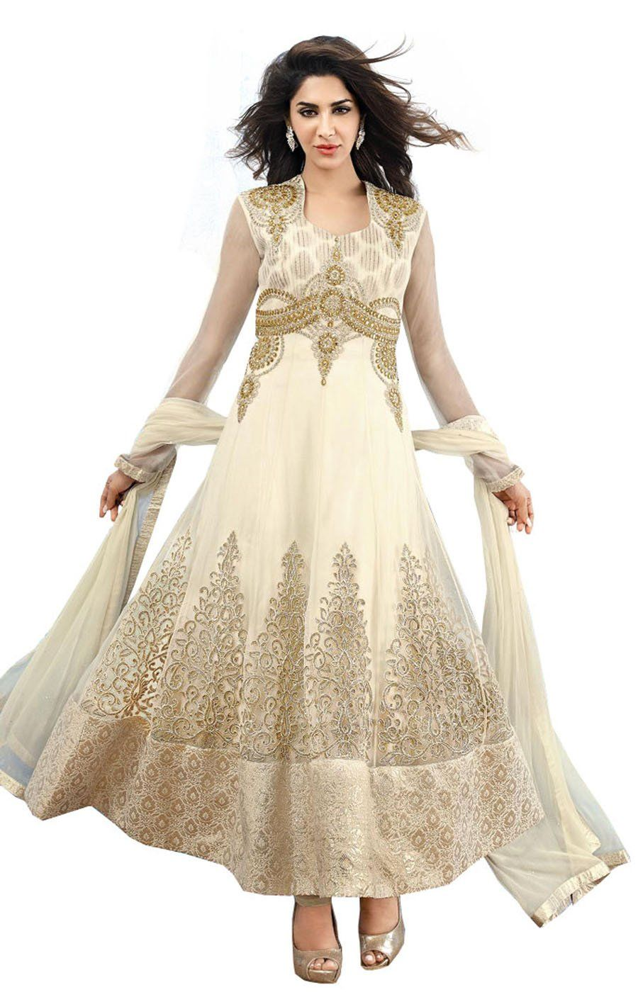 42ae3c86b6 Amazon.com: DivyaEmporio Women's Ethnic Salwar Suit Dupatta Unstitched Dress  Material (Free Size): Clothing