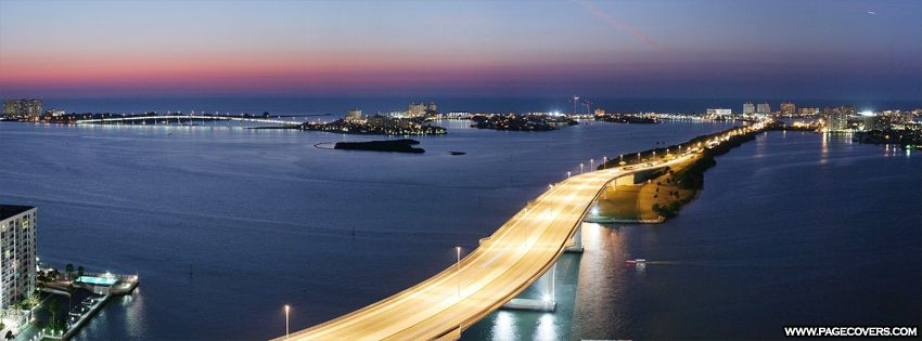 Clearwater Beach Florida Bridge Facebook Cover Pagecovers Com Breathtaking Sites Pinterest