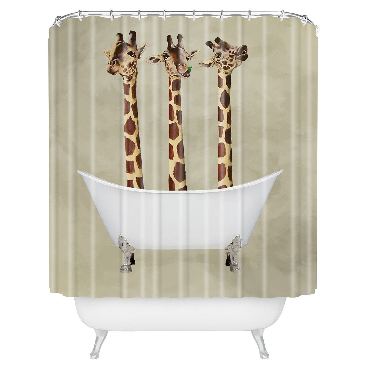 Pin by Patty Harless on Giraffe art Cool shower curtains
