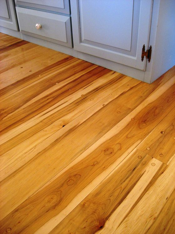 Maple Exhibits Interesting Contrast Between The Darker Heartwood And