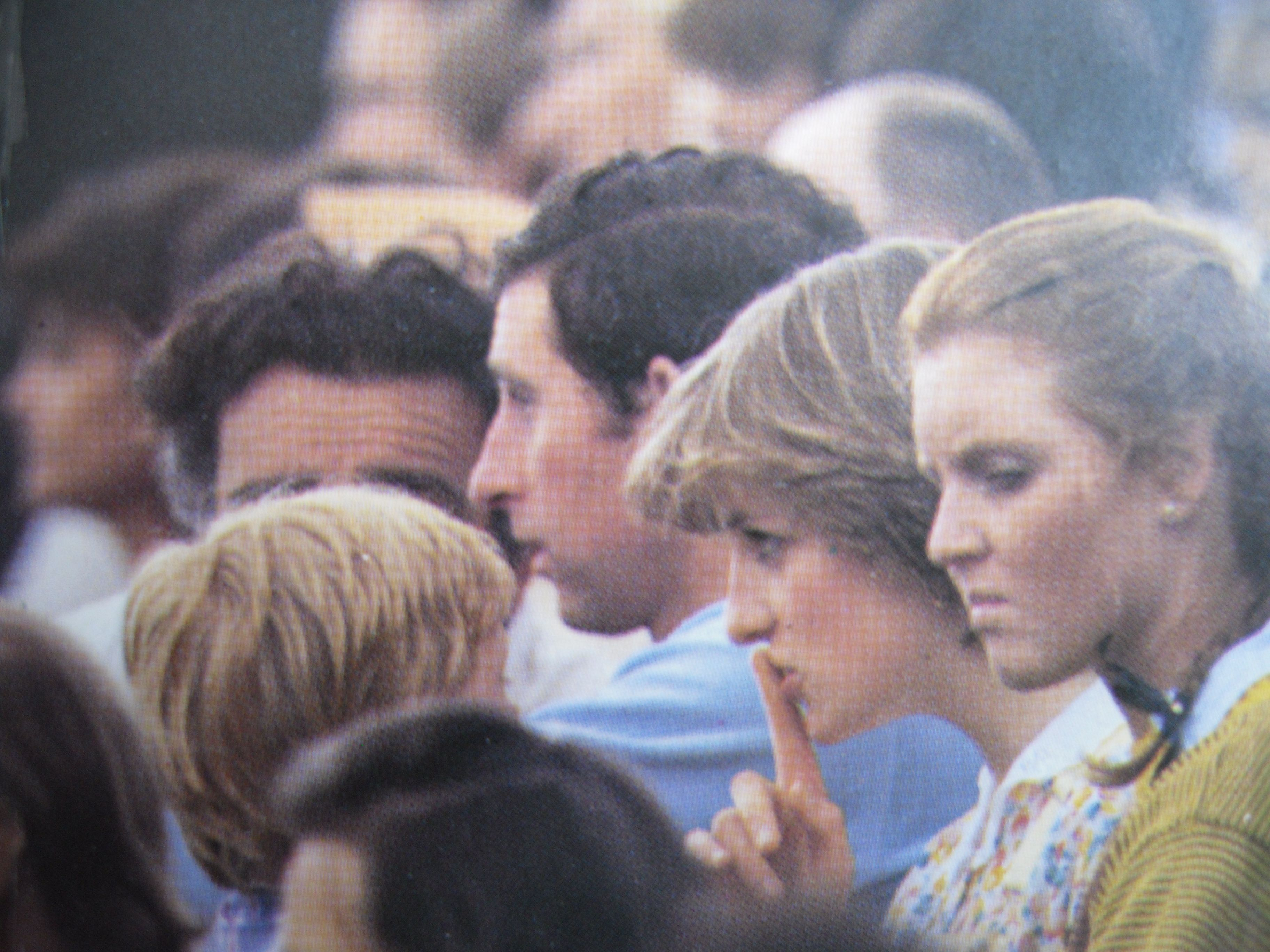 July 12, 1981 Lady Diana Spencer with Prince Charles