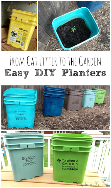 Uses For Old Cat Litter Containers