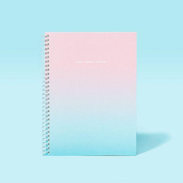 Gradient notebook.