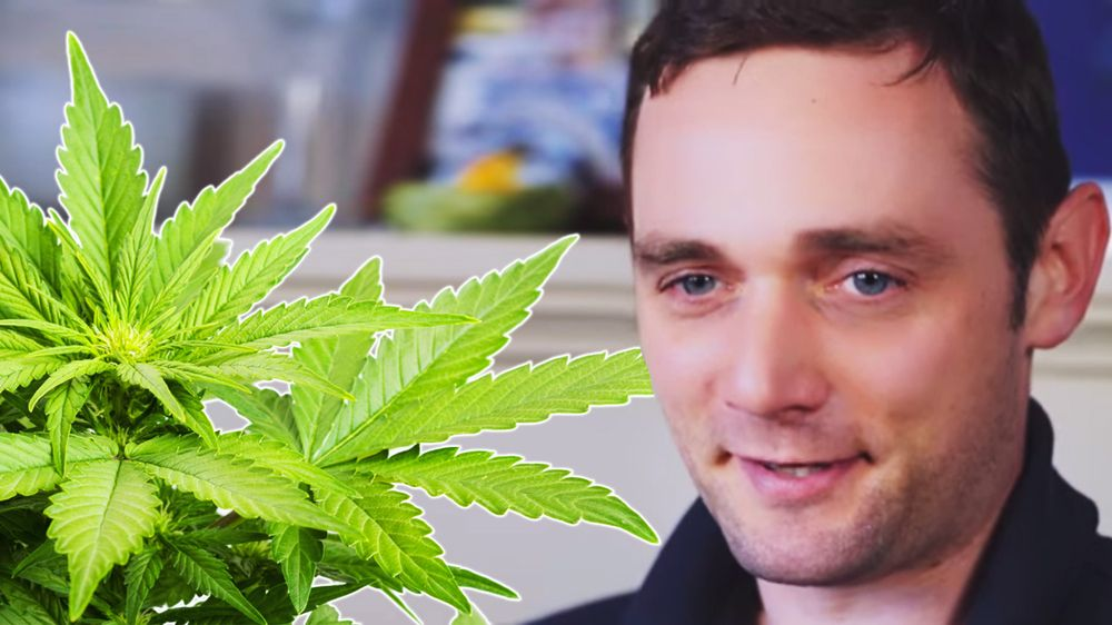 Cannabis oil saved a man who ditched chemo