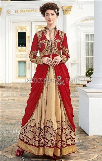 Fancy Gown Style Dresses Attire For New Dressing Trend Online India