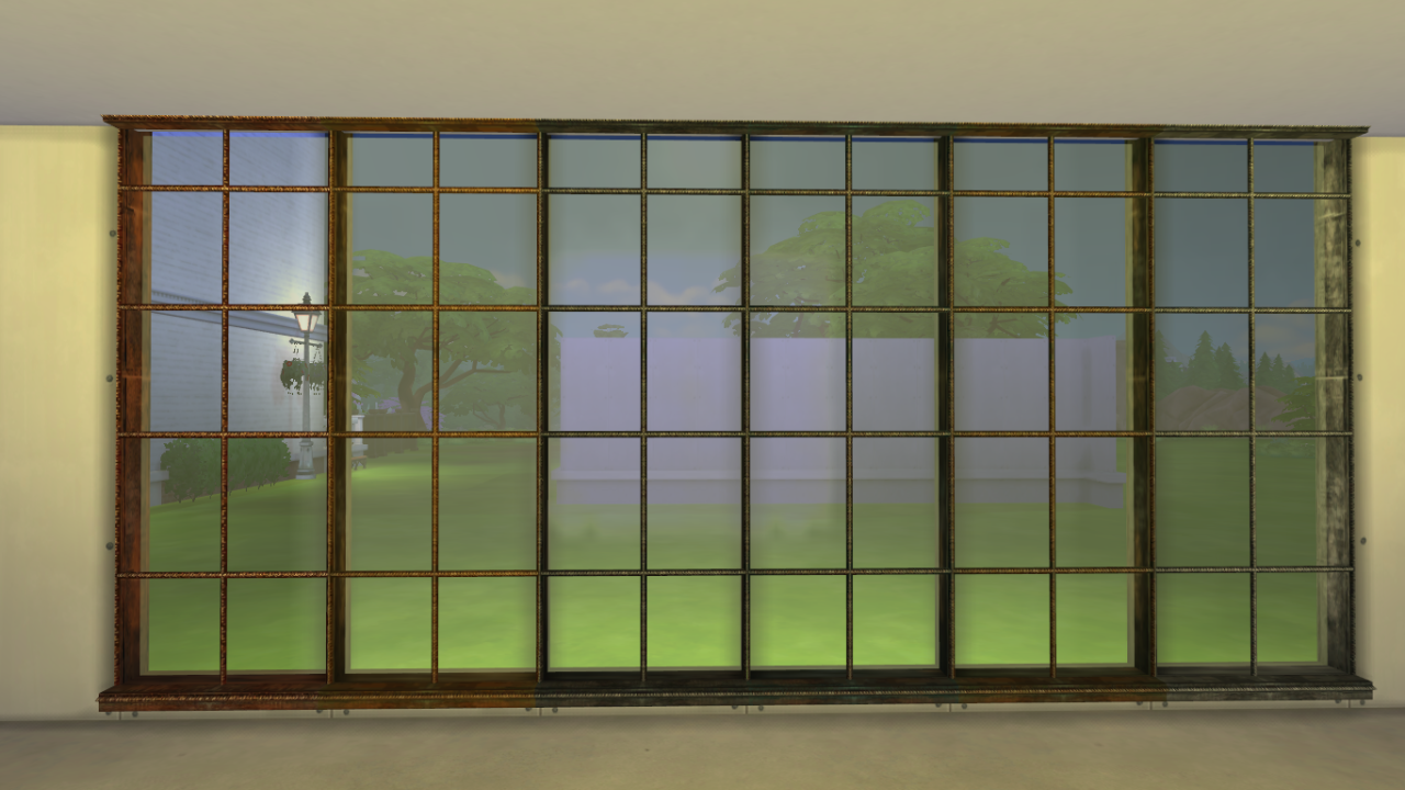 Sims 4 CC's - The Best: Windows and Wall Cap by ...