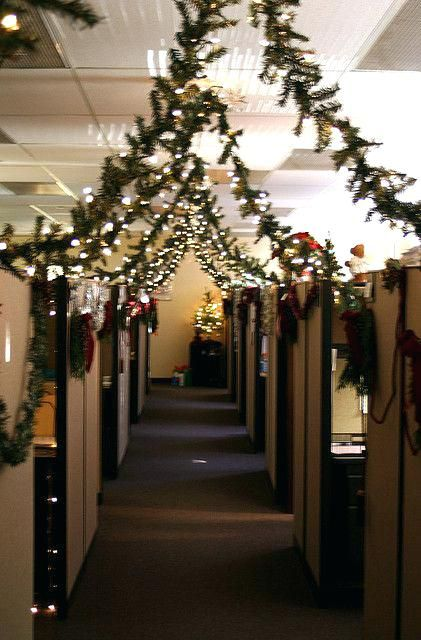 Image result for christmas cubicle decorating ideas for Cubicle decoration xmas