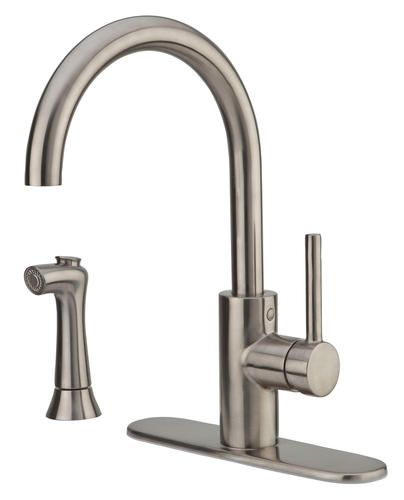 Pfister Solo 1 Handle Kitchen Faucet At Menards High Arc Kitchen