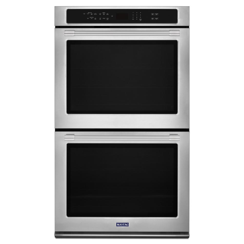 Maytag 30 In Double Electric Wall Oven With True Convection In