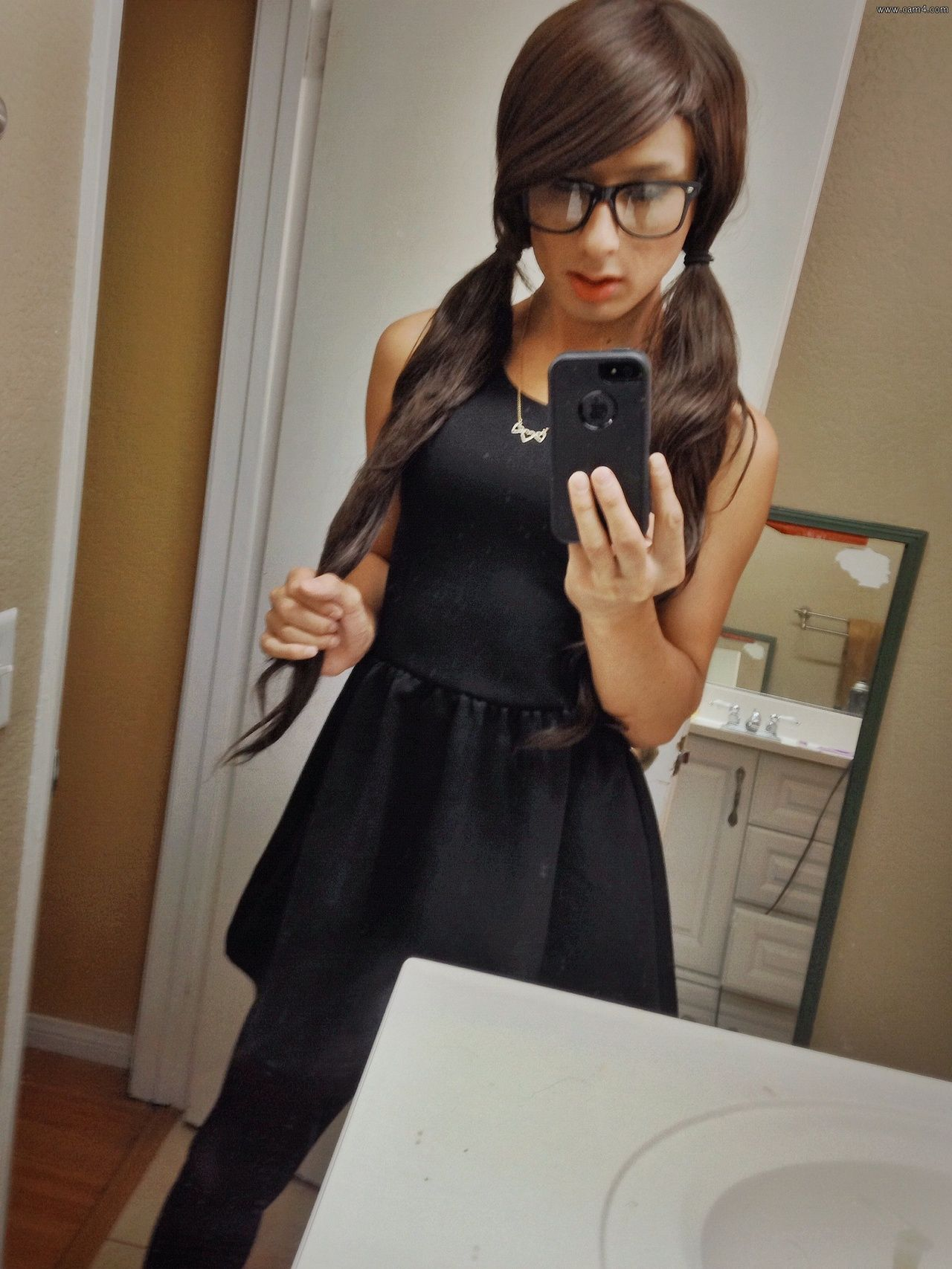 teen femboy Emily CD 24 - crossdressing | Gender Bending | Pinterest | Posts, Chang'e 3  and Little black dresses